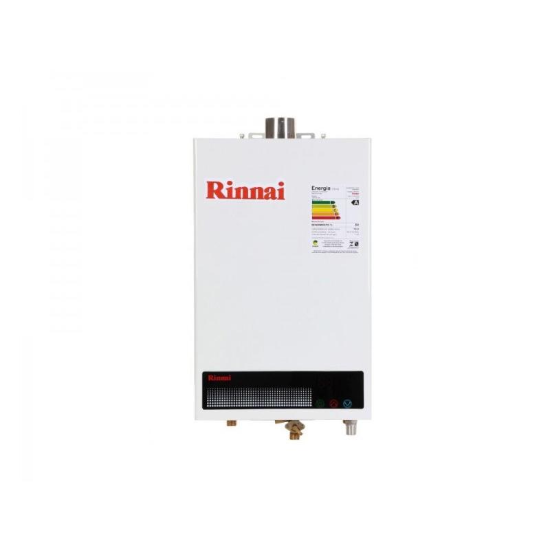 Aquecedor de Passagem Digital Rinnai GN - 12 Litros